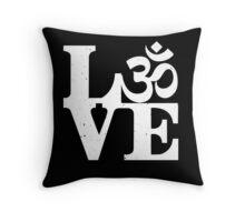 Om love Throw Pillow