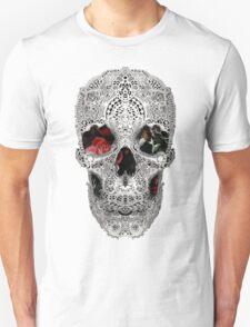 Lace Skull Light Unisex T-Shirt