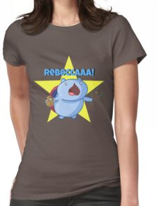 Rebeccaaa! Womens Fitted T-Shirt