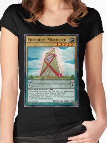 Qliphort Monolith Women's Fitted Scoop T-Shirt
