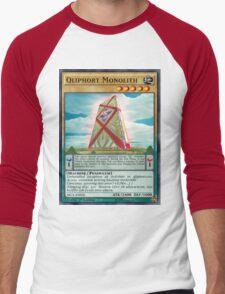 Qliphort Monolith Men's Baseball ¾ T-Shirt