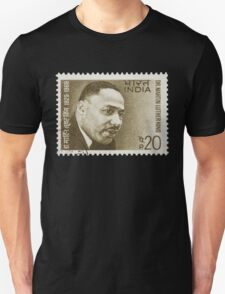 Martin Luther King - India Stamp T-Shirt