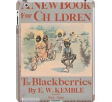 Artist Posters A new book for children The blackberries 0601 iPad Case/Skin