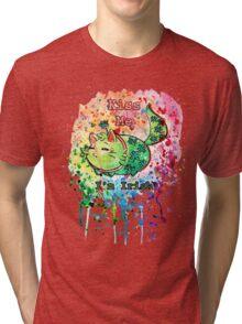 Cat - Kiss Me I'm Irish Tri-blend T-Shirt