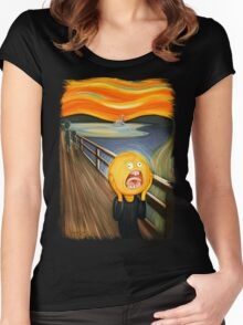 Rick and Morty - The Sun Scream Women's Fitted Scoop T-Shirt