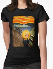 Rick and Morty - The Sun Scream Womens Fitted T-Shirt