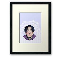 nam taehyun grid Framed Print