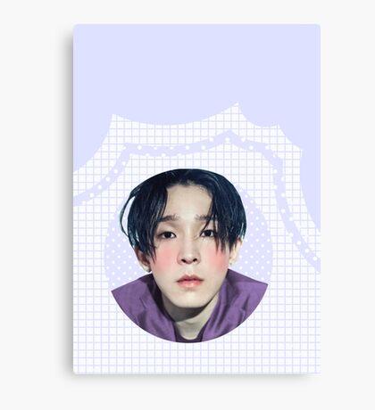 nam taehyun grid Canvas Print