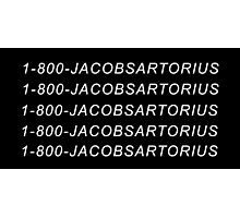 1-800-JACOBSARTORIUS Photographic Print