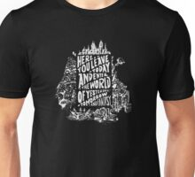 You'll Be In My Heart (On Black) Unisex T-Shirt