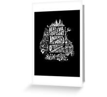 You'll Be In My Heart (On Black) Greeting Card