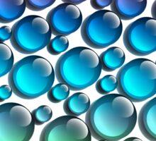 colored drops Sticker
