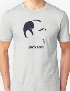 Jackson Pollock (Hirsute History) Unisex T-Shirt