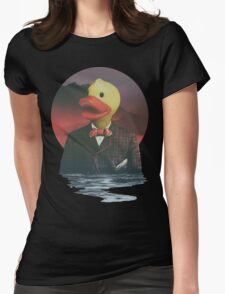 Rubber Ducky Womens Fitted T-Shirt