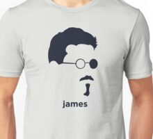 James Joyce (Hirsute History) Unisex T-Shirt