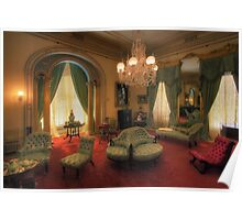 The Lounge - Werribee Mansion Poster