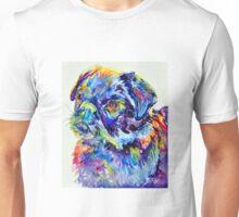 Blue Pug Unisex T-Shirt