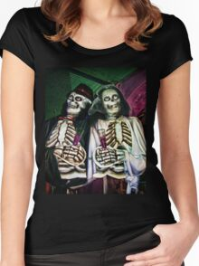 The Wedding of the Dead Women's Fitted Scoop T-Shirt
