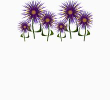 Indigo Flowers Growing in Mo's Garden Unisex T-Shirt