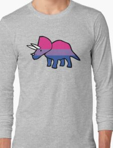 Biceratops (Bisexual Triceratops) Long Sleeve T-Shirt