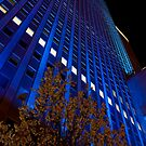 Prudential in Blue by Adam Bykowski