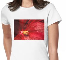 Shades of Red Womens Fitted T-Shirt