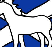 Unicorn, Scotland's National Animal Sticker