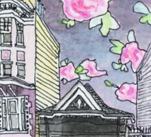 San Francisco Houses #11 Sticker