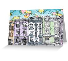 San Francisco Houses #12 Greeting Card