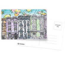 San Francisco Houses #12 Postcards