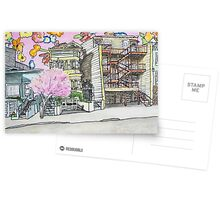 San Francisco Houses #13 Postcards