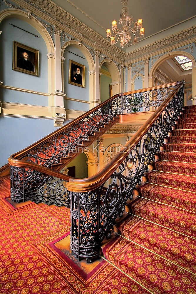 The Staircase - Werribee by Hans Kawitzki