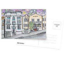 San Francisco Houses #15 Postcards