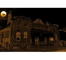 Haunted House #2 Photographic Print