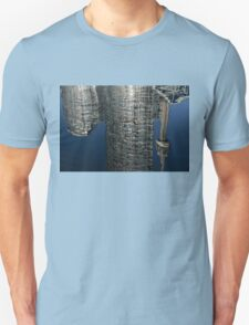 Upside Down Toronto Abstract Unisex T-Shirt