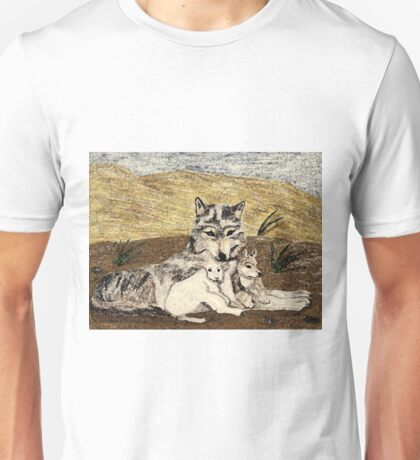 The Wolf And The Lamb Will Dwell Together Unisex T-Shirt