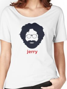 Jerry Garcia (Hirsute History) Women's Relaxed Fit T-Shirt