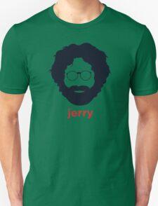 Jerry Garcia (Hirsute History) Unisex T-Shirt