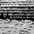 Strip Mall Textures 2 BW by marybedy