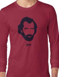 Jim Henson (Hirsute History) Long Sleeve T-Shirt