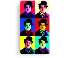 Chaplin meet pop PT.3 Canvas Print