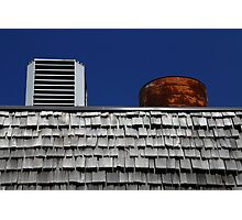 Strip Mall Roof Abstract Photographic Print
