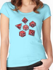 Dice of Power Women's Fitted Scoop T-Shirt
