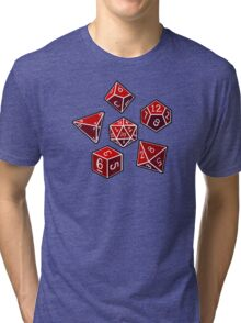 Dice of Power Tri-blend T-Shirt