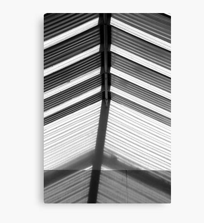 Skylight Abstract 10 BW Canvas Print