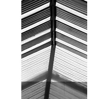 Skylight Abstract 10 BW Photographic Print