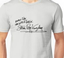 Steve Ray Vaughan - Play her with feeling Unisex T-Shirt