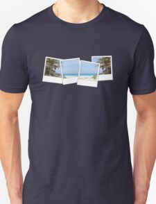 Tropical Polaroids Unisex T-Shirt