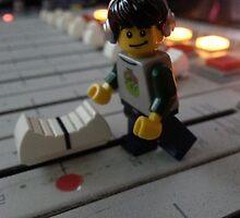 DJ Minifig by Shauna  Kosoris