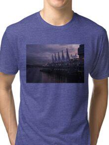 Purple Dawn in Vancouver  Tri-blend T-Shirt